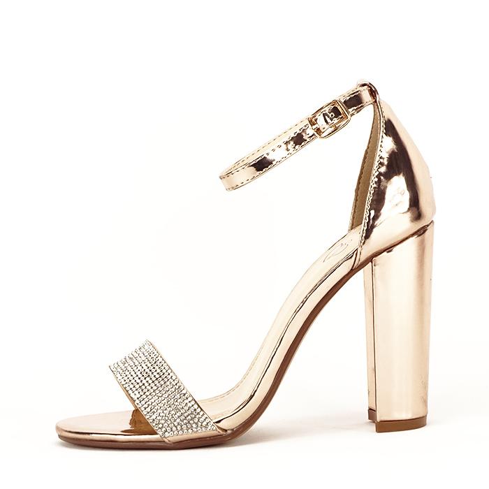 Sandale argintii Diana