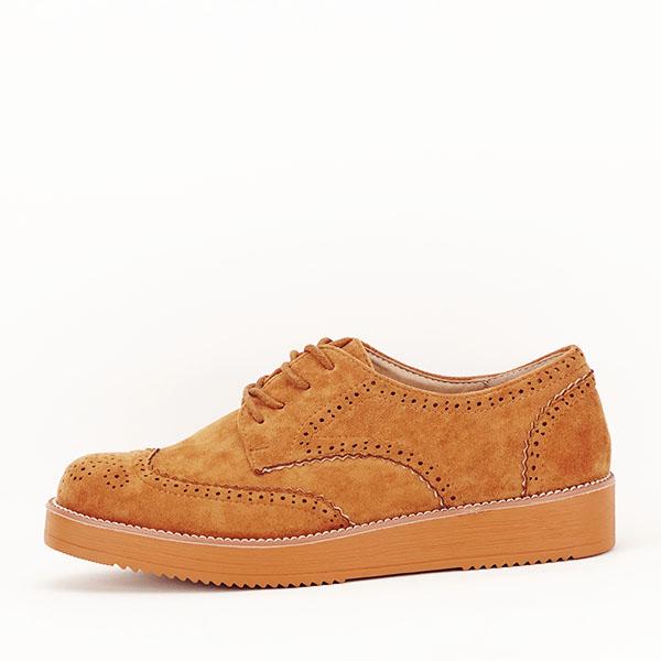 Pantofi oxford negri Dalia